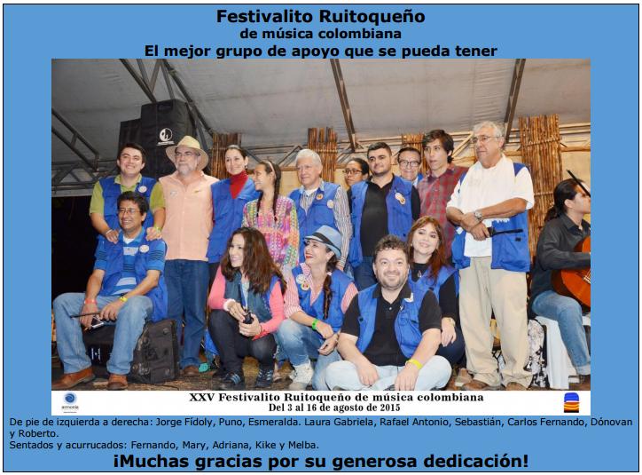 Imagen festivalito ruitpqueño 2015 - XXV - 25