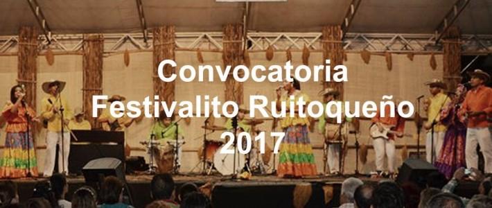 Convocatoria Festivalito Ruitoqueño 2017